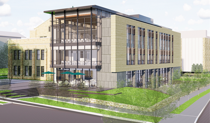 A rendering of the future Fernandez Center for Innovative and Collaborative Learning